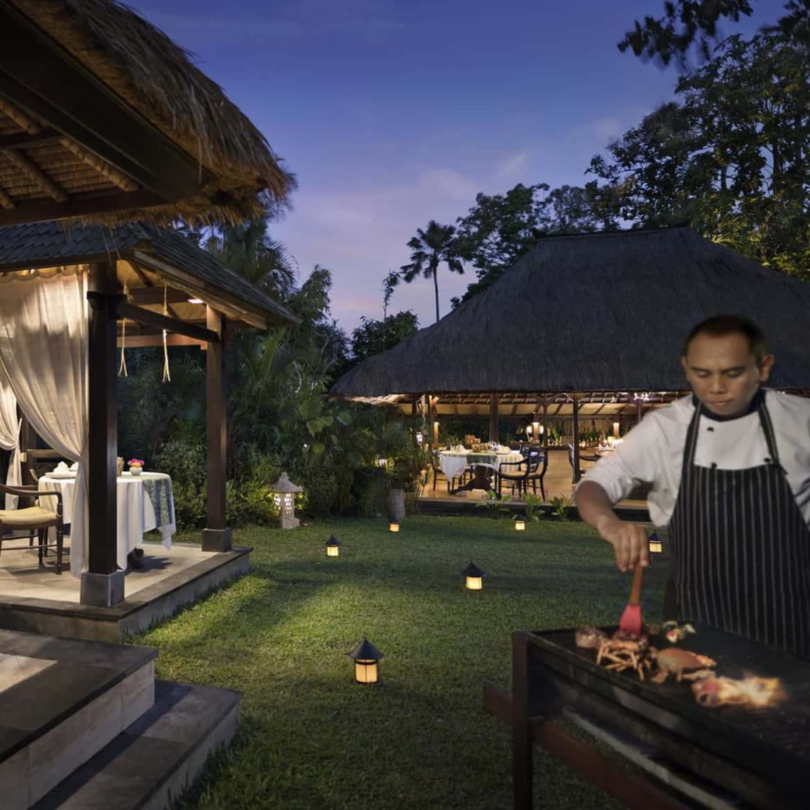Private BBQ under the stars - The Pavilions Bali
