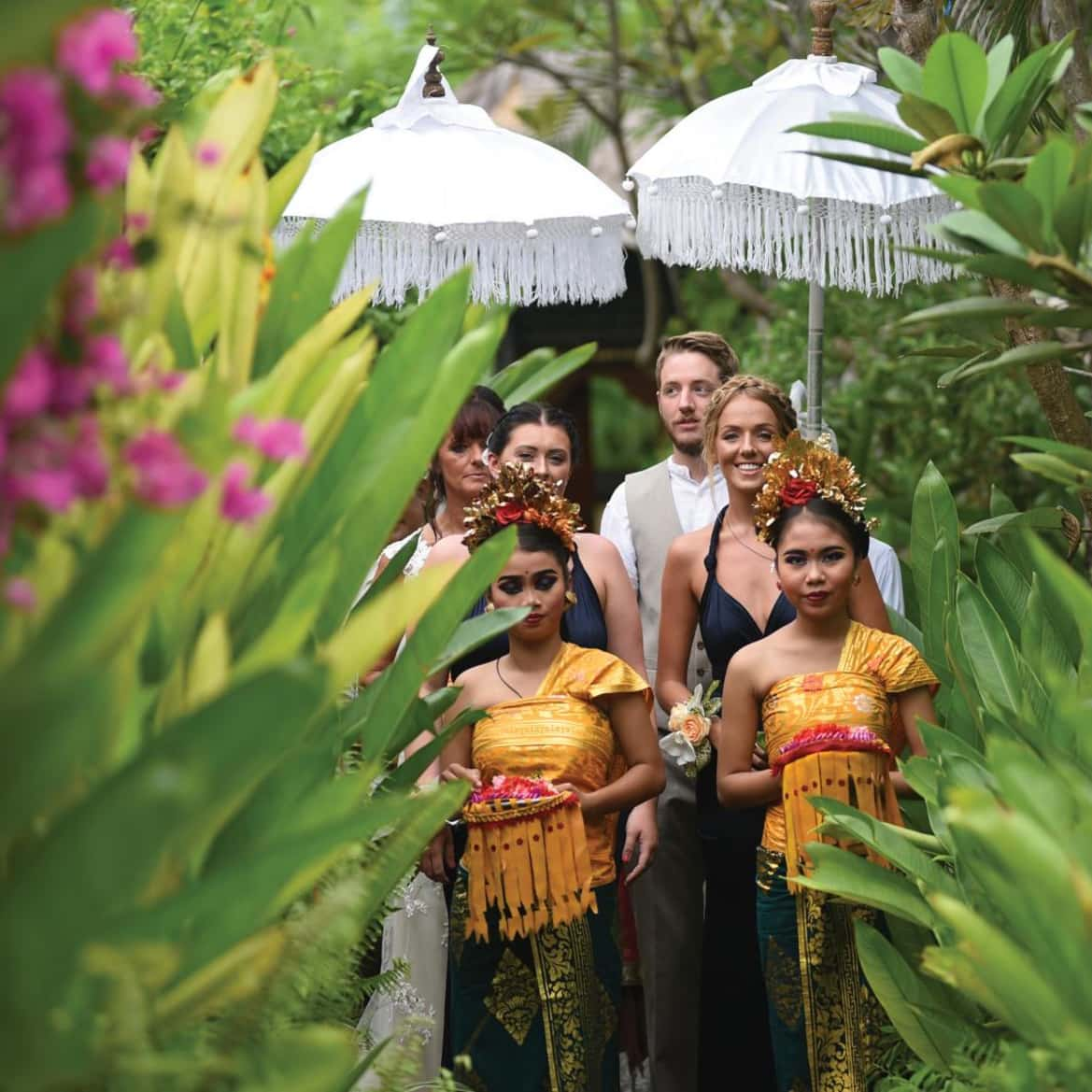 Intimate island wedding - The Pavilions Bali