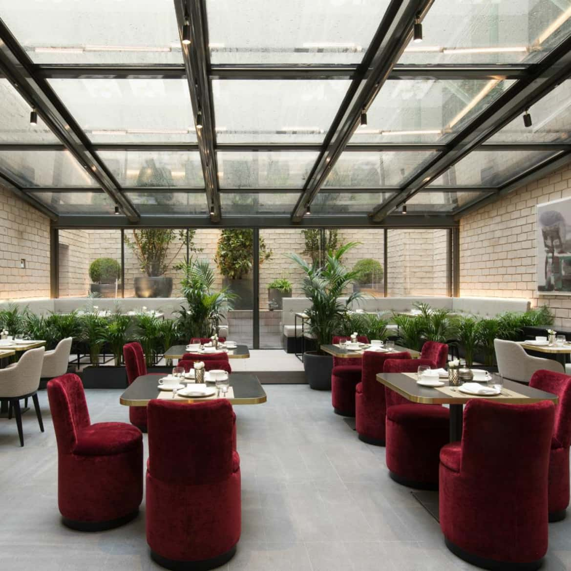 Breakfast Lounge - The Pavilions Madrid