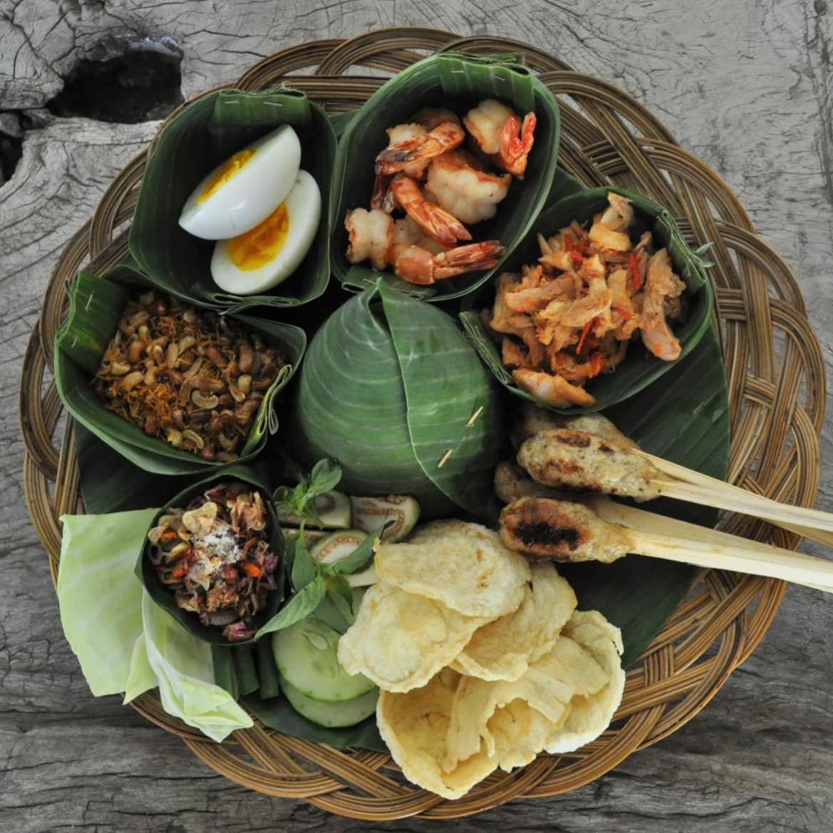 Traditional Balinese treat - The Pavilions Bali