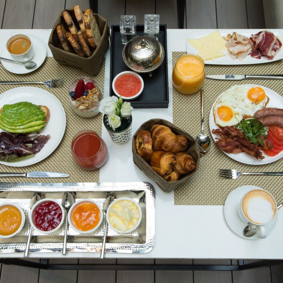 Good Morning Continental breakfast  - The Pavilions Madrid