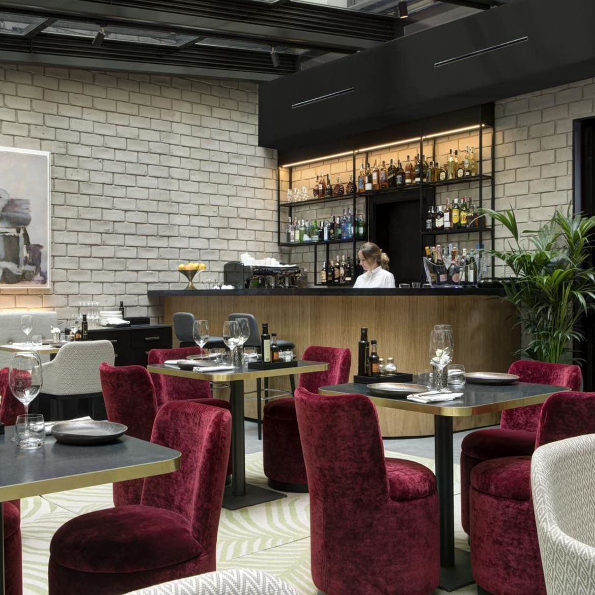 Cafe Lounge - The Pavilions Madrid