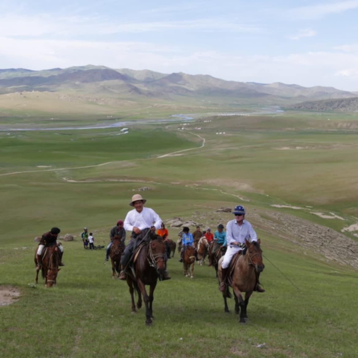 Riding Across The Breathtaking Mongolian Landscape - The Pavilions Mongolia