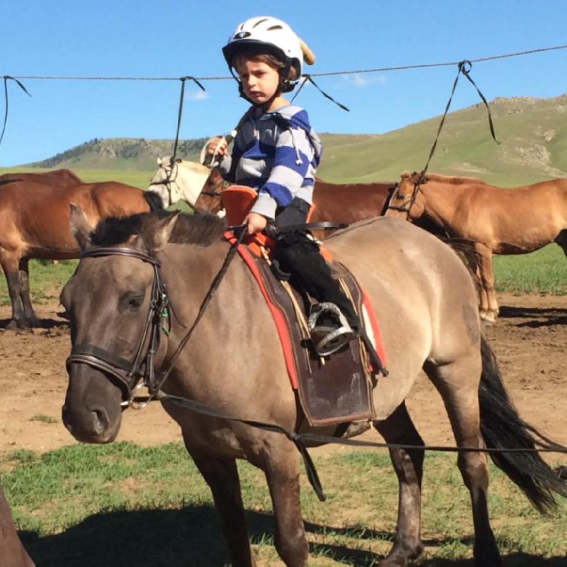 Exploring on Horseback - The Pavilions Mongolia