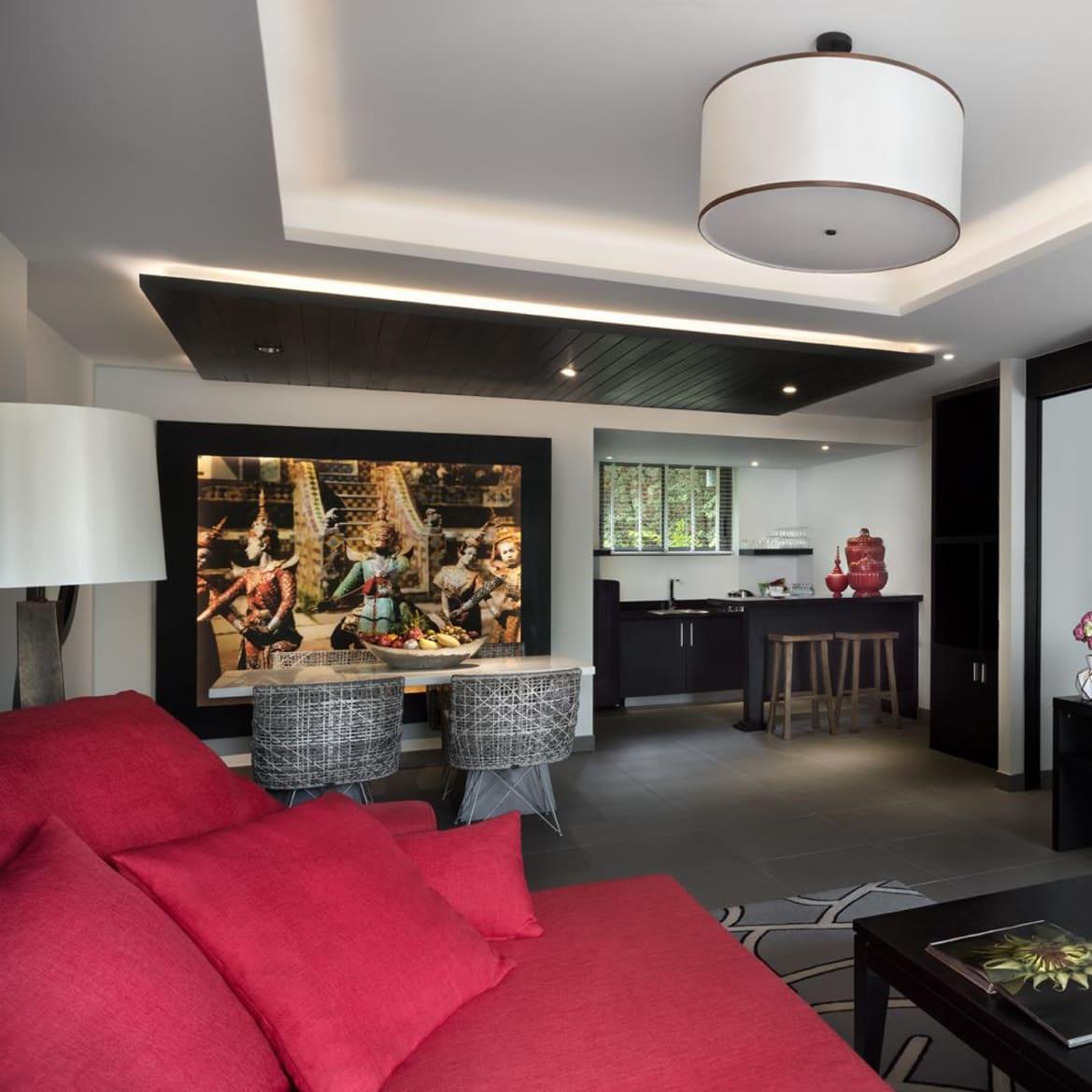 Hill View Suite Lounge - The Pavilions Phuket