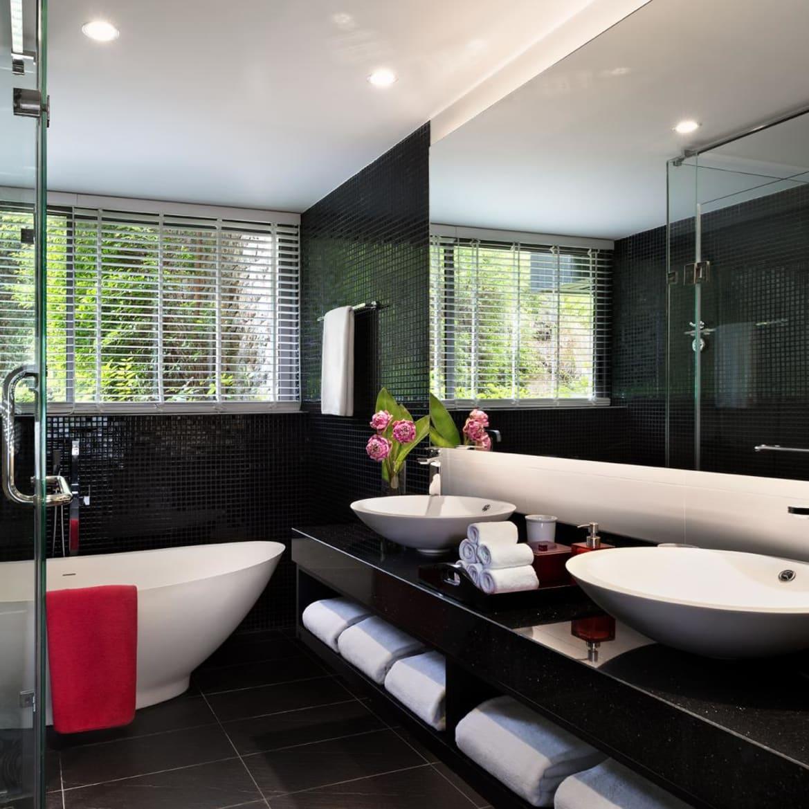 Hill View Suite Bathroom - The Pavilions Phuket