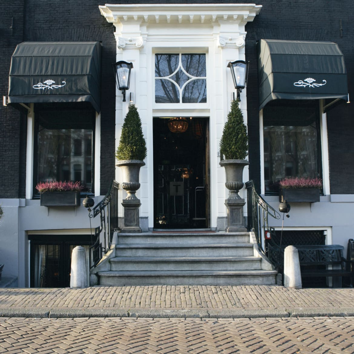 Hotel Main Entrance - The Toren Amsterdam - By the Pavilions