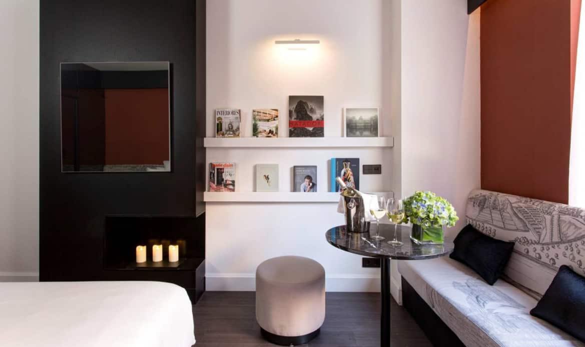 Habitación deluxe: sala de estar