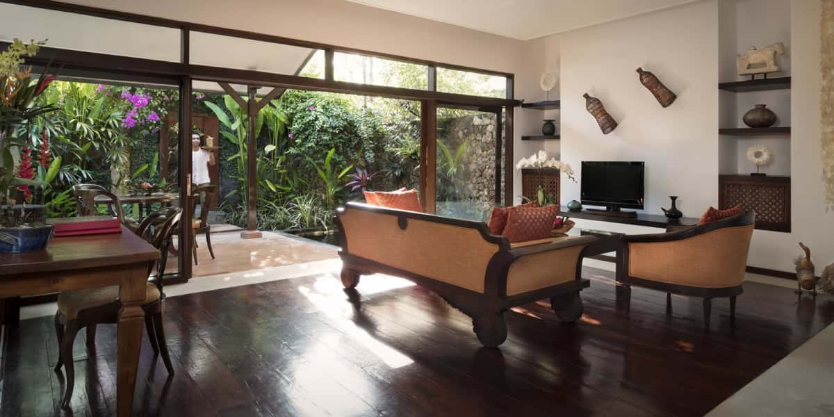 Spacious living room - The Pavilions Bali