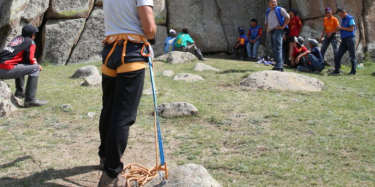 Rock Climbing - The Pavilions Mongolia