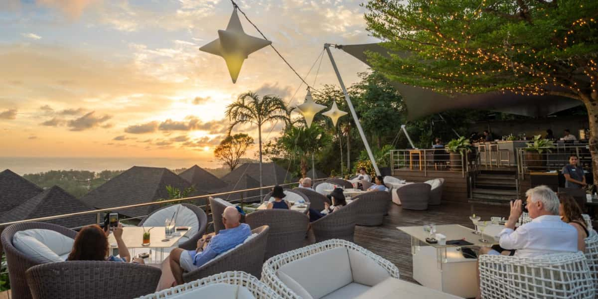 Phukets most iconic sunset - The Pavilions Phuket