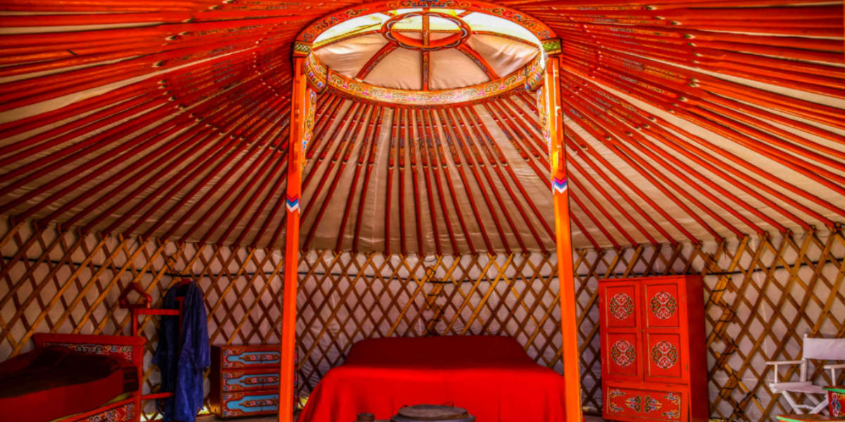 Luxury and Comfort in a Ger - The Pavilions Mongolia