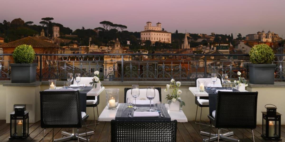 Terrazza Panoramica Hotel Roma
