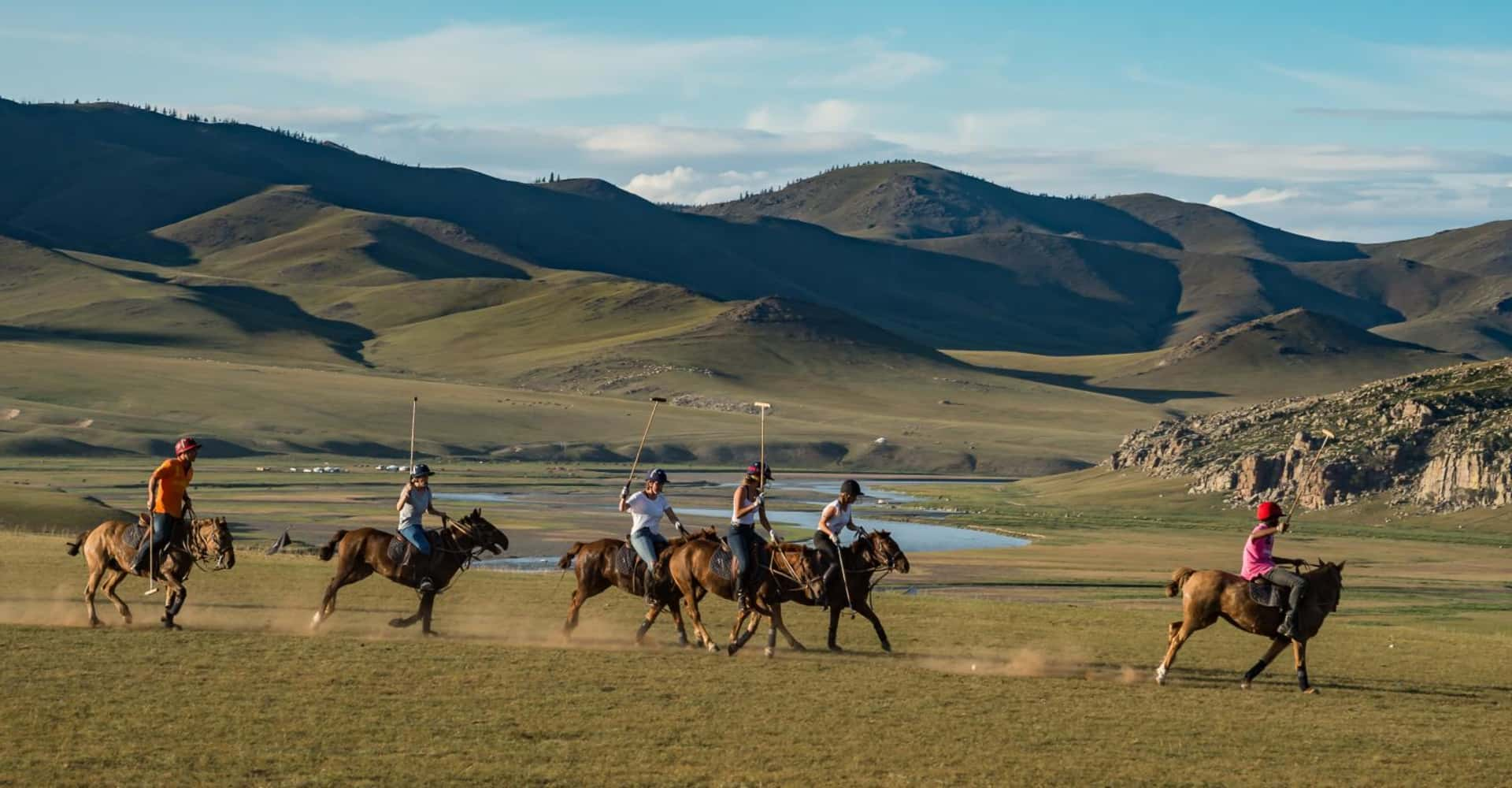 THE GENGHIS KHAN POLO CLUB - The Pavilions Mongolia