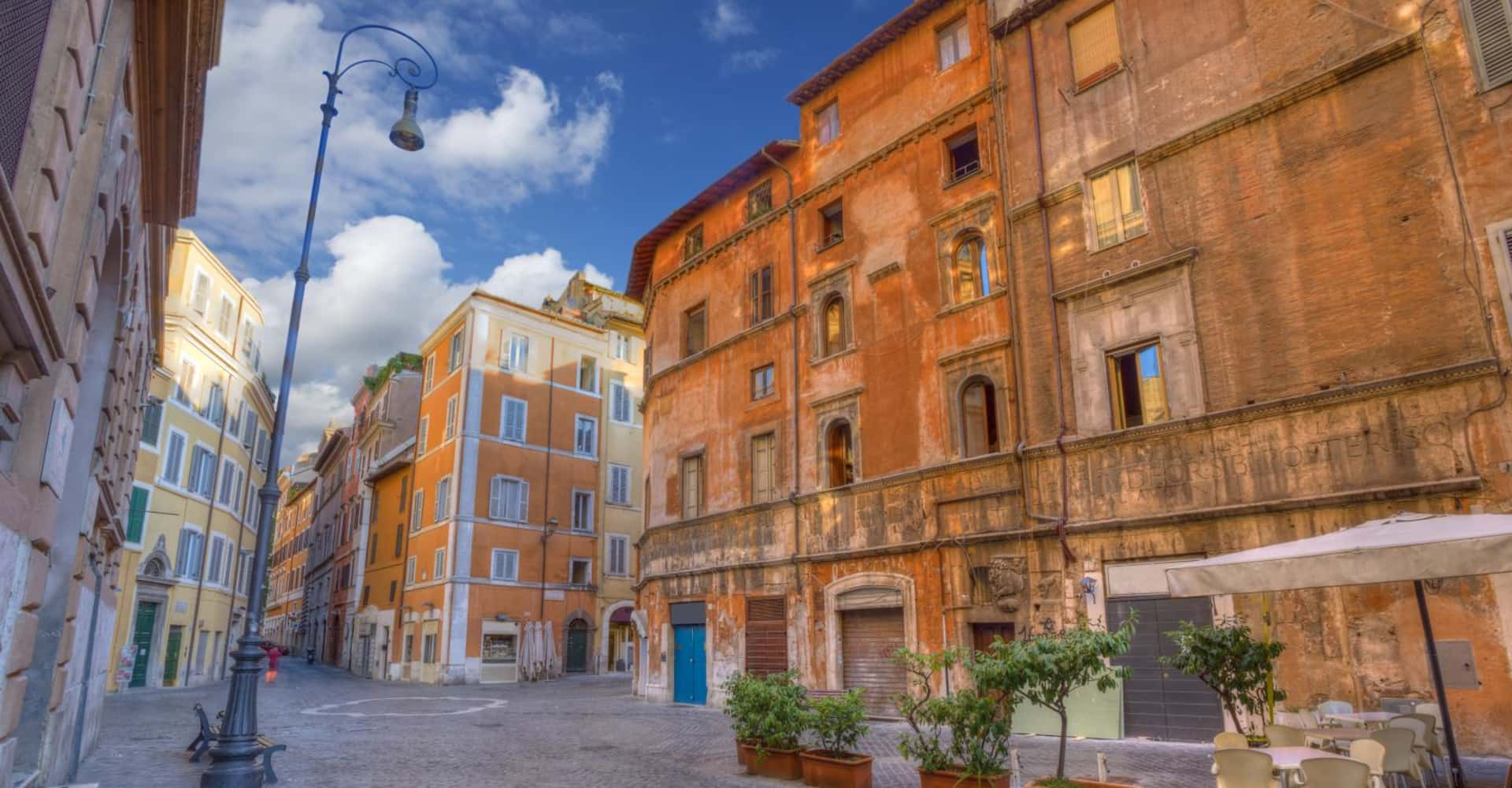 The Jewish Ghetto - The First Roma Arte