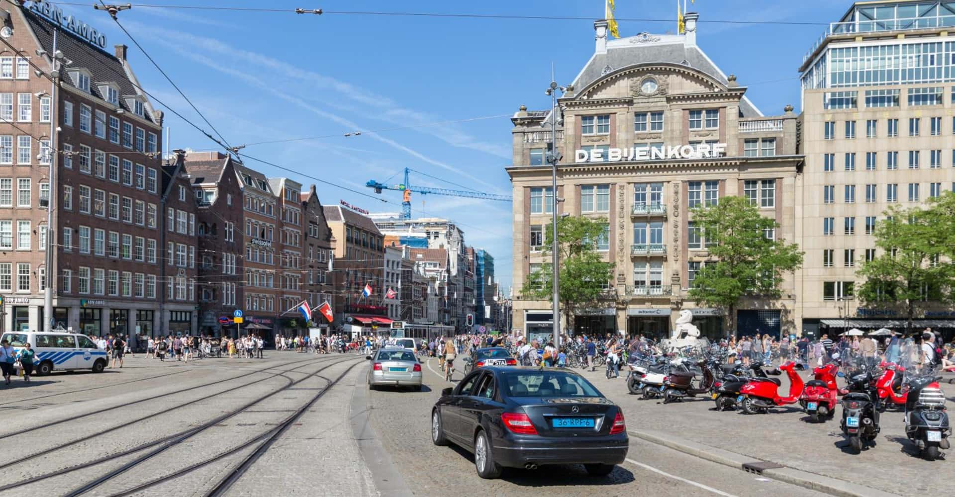 By Car  - The Toren Amsterdam - By the Pavilions