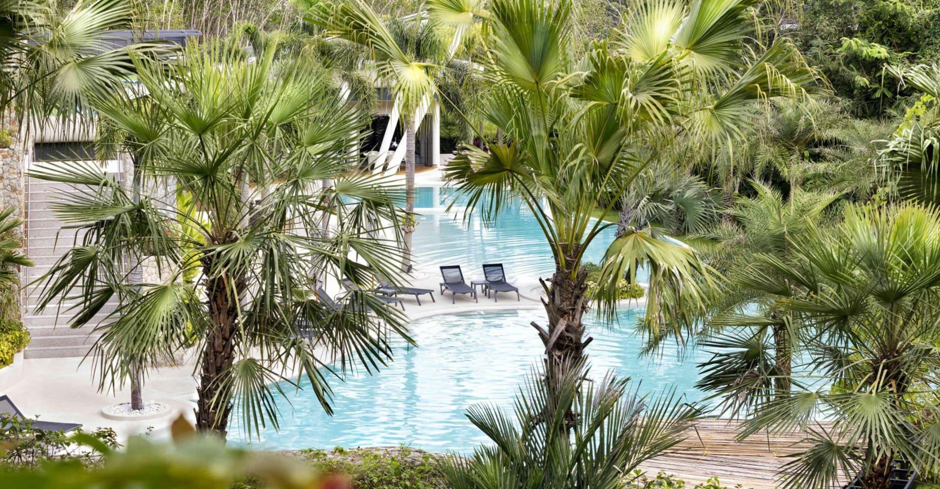 Resort Pools - The Pavilions Phuket