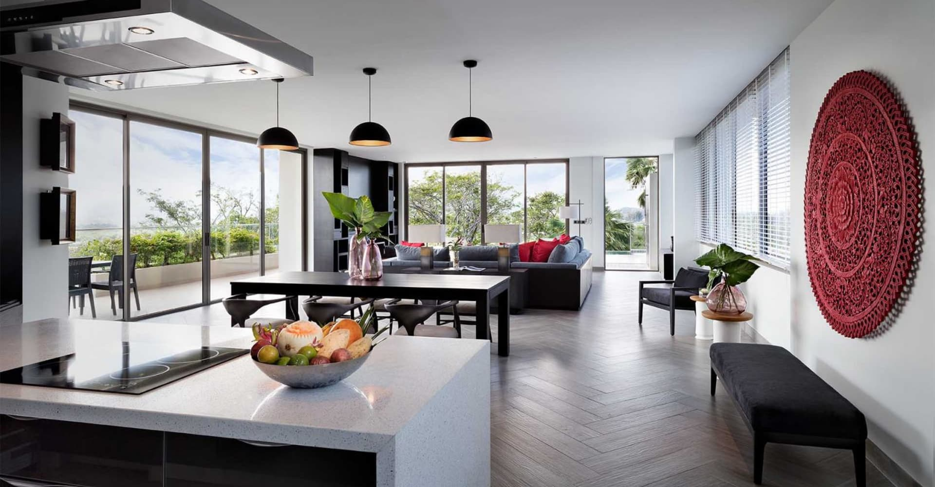 Two Bedroom Pool Loft - The Pavilions Phuket