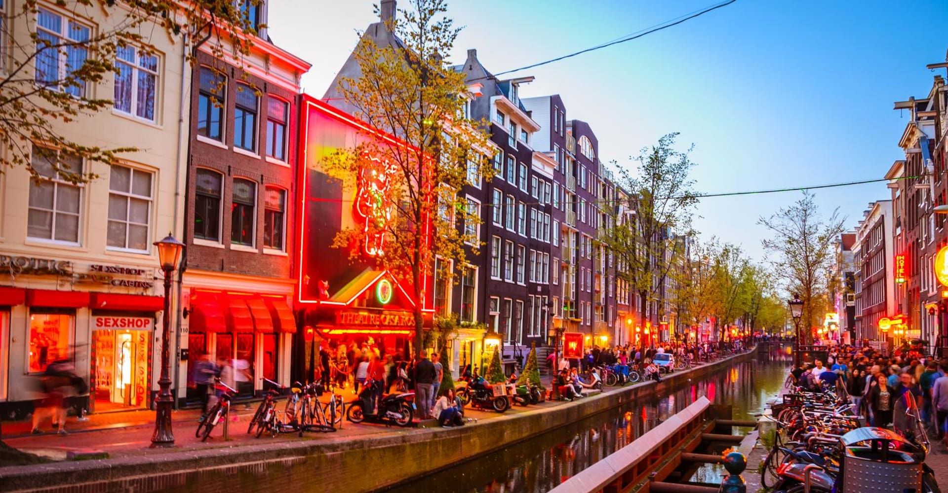 The Red Light District - The Toren Amsterdam - By the Pavilions