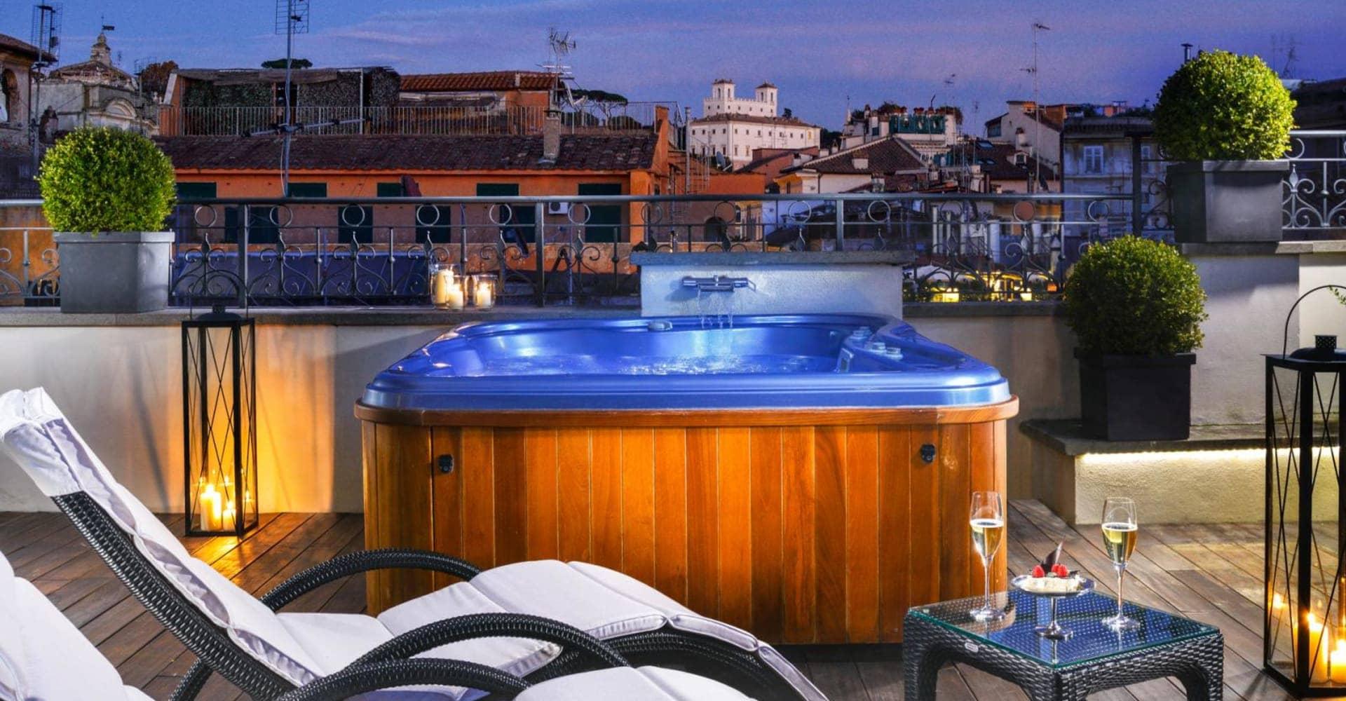 Luxury Jacuzzi View Suites