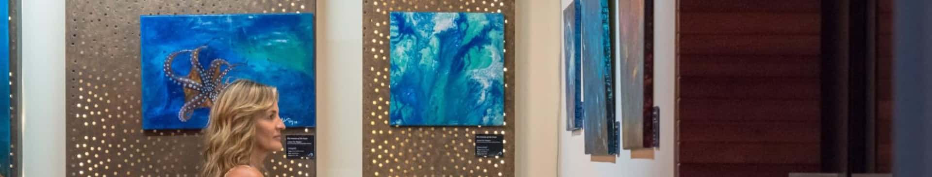 The Emotion of the Ocean art exhibition