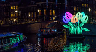 Light Festival  - The Toren Amsterdam - By the Pavilions