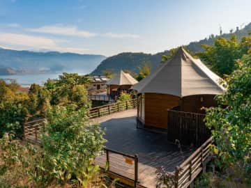 Lake View - Tented Villas NEW - The Pavilions Himalayas
