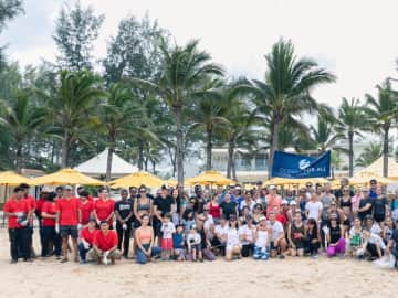 The Pavilions Phuket joins Oceans For All 'Pure Shores' Event