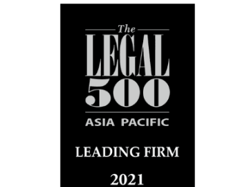 OLN achieves strong rankings in Legal 500 Asia Pacific 2021 - OLN