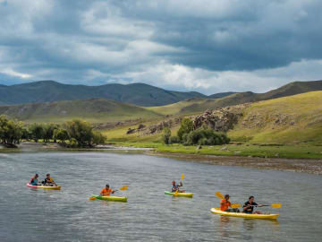 KAYAKING - The Pavilions Mongolia