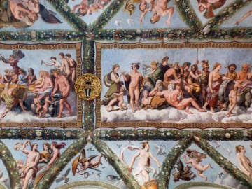 Behold Raphael's Frescos at Villa Farnesina - The First Roma Dolce