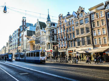 Public Transport  - The Toren Amsterdam - By the Pavilions