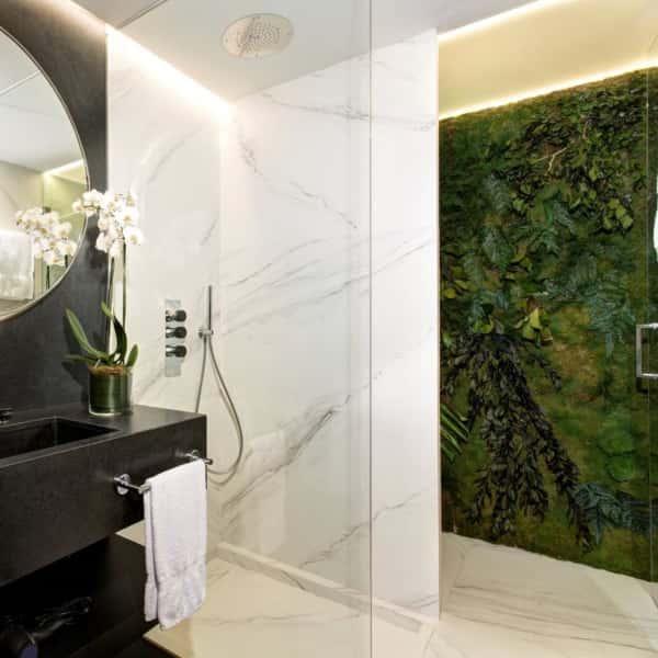 Habitación deluxe: cuarto de baño de vanguardia
