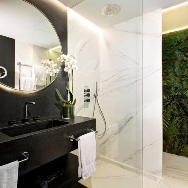 Deluxe Room - State of the art bathroom