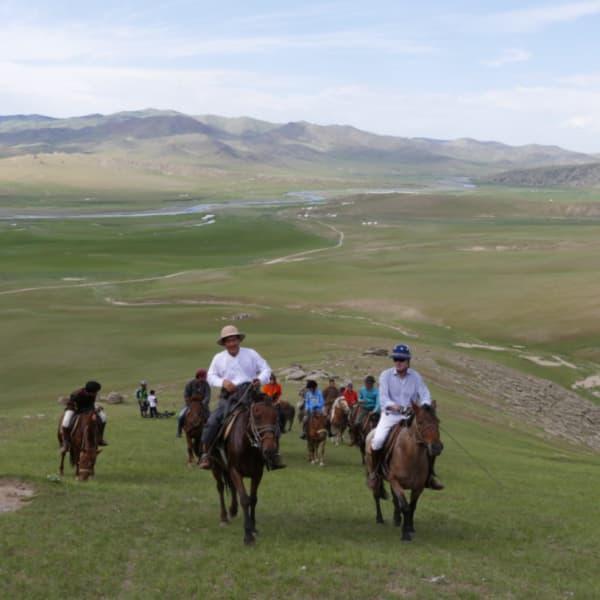 Riding Across The Breathtaking Mongolian Landscape