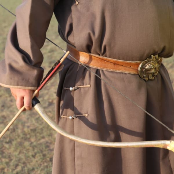 Traditional Mongolian Bow and Arrow