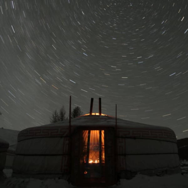 A Ger Under The Stars
