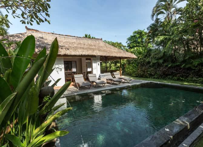 Villa deux chambres avec piscine