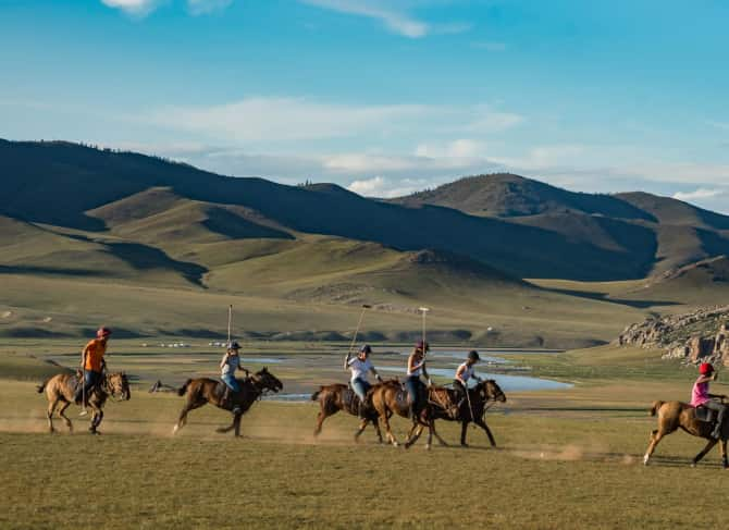 THE GENGHIS KHAN POLO CLUB