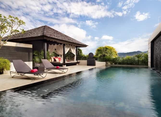 One Bedroom Spa & Pool Pavilion