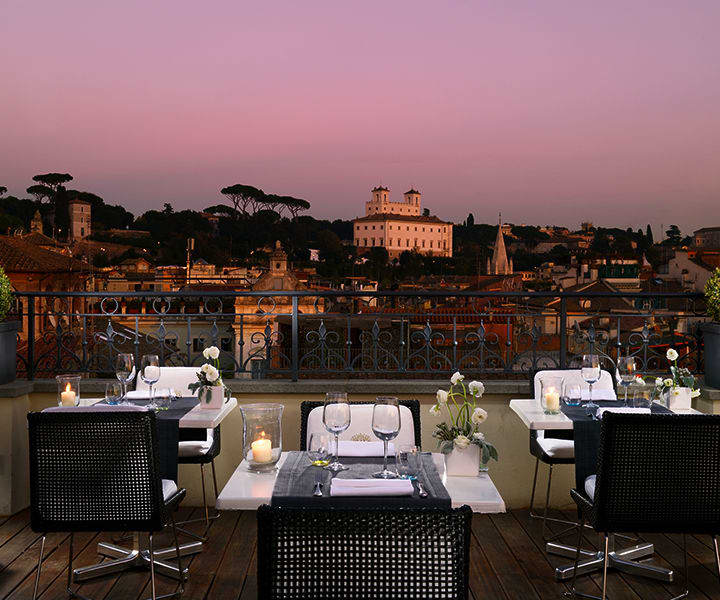 ROOFTOP DINING - The First Roma Arte