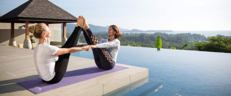 Yoga & Fitness Class - The Pavilions Phuket