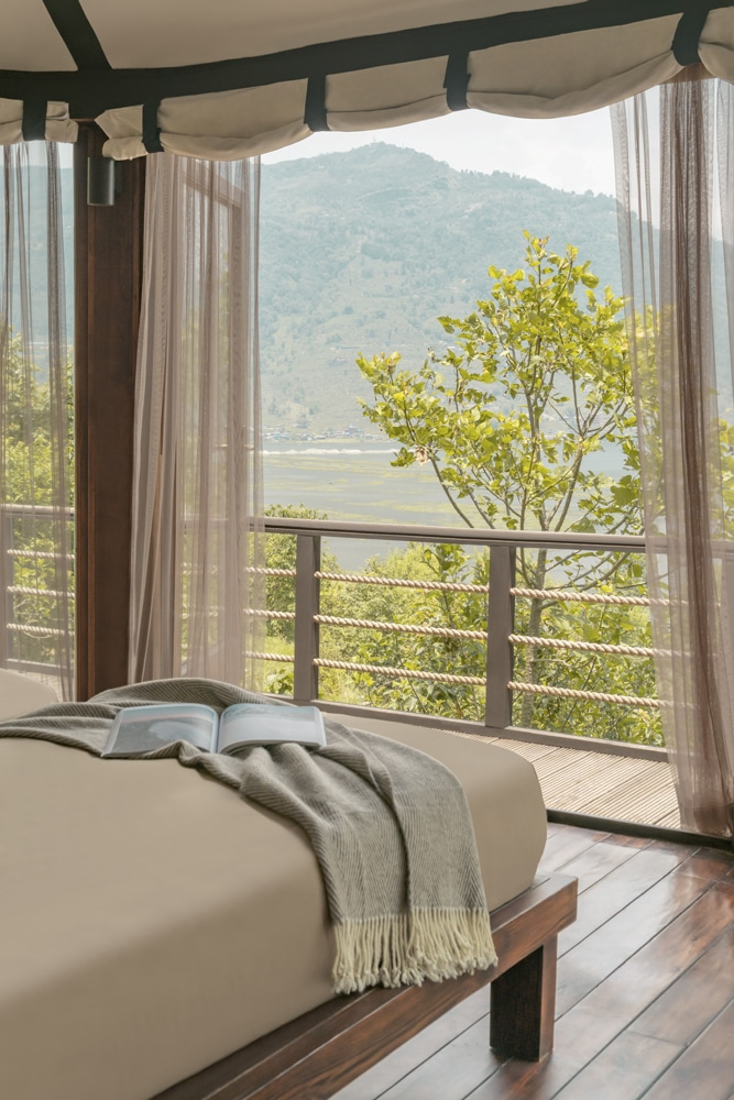 Himalayas Lake View- Villa 1- Room Bed